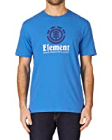 Element Vertical SS Swedish Blue Basic T-Shirt