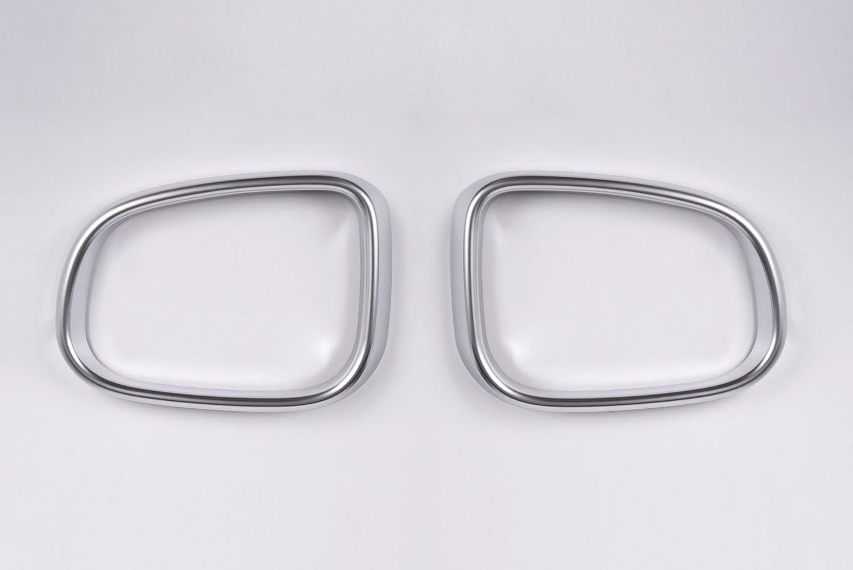 METYOUCAR Chrom ABS R/ückspiegel Rahmen Cover Trim Aufkleber