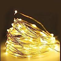 Cordão de Cobre Luz de Fada - 10 Metros - 100 Leds