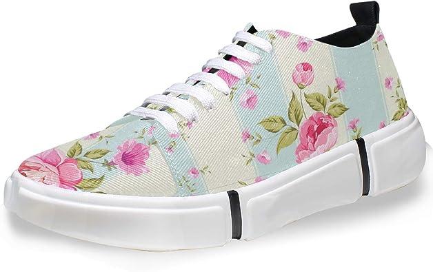 FANTAZIO - Zapatillas de Running para Hombre, Color Rosa: Amazon.es: Zapatos y complementos