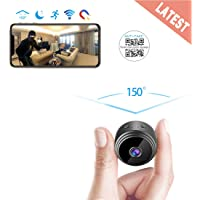 $32 » AREBI Spy Camera Wireless Hidden WiFi Mini Camera HD 1080P Portable Home Security…