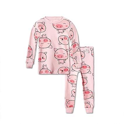 Floridivy Los niños de Dibujos Animados Animal Print Pijamas ...