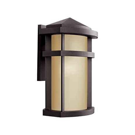 Kichler 11069az one light outdoor wall mount