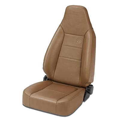 Bestop 39434-37 TrailMax II Sport Spice Front High Back All-Vinyl Single Jeep Seat for 1976-2006 Jeep CJ and Wrangler: Automotive