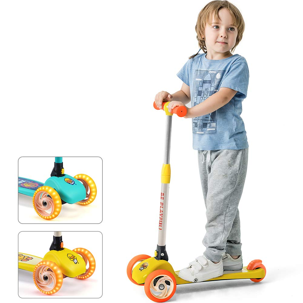 Luddy Patinete Kick para niños y niños - Patinete Plegable ...