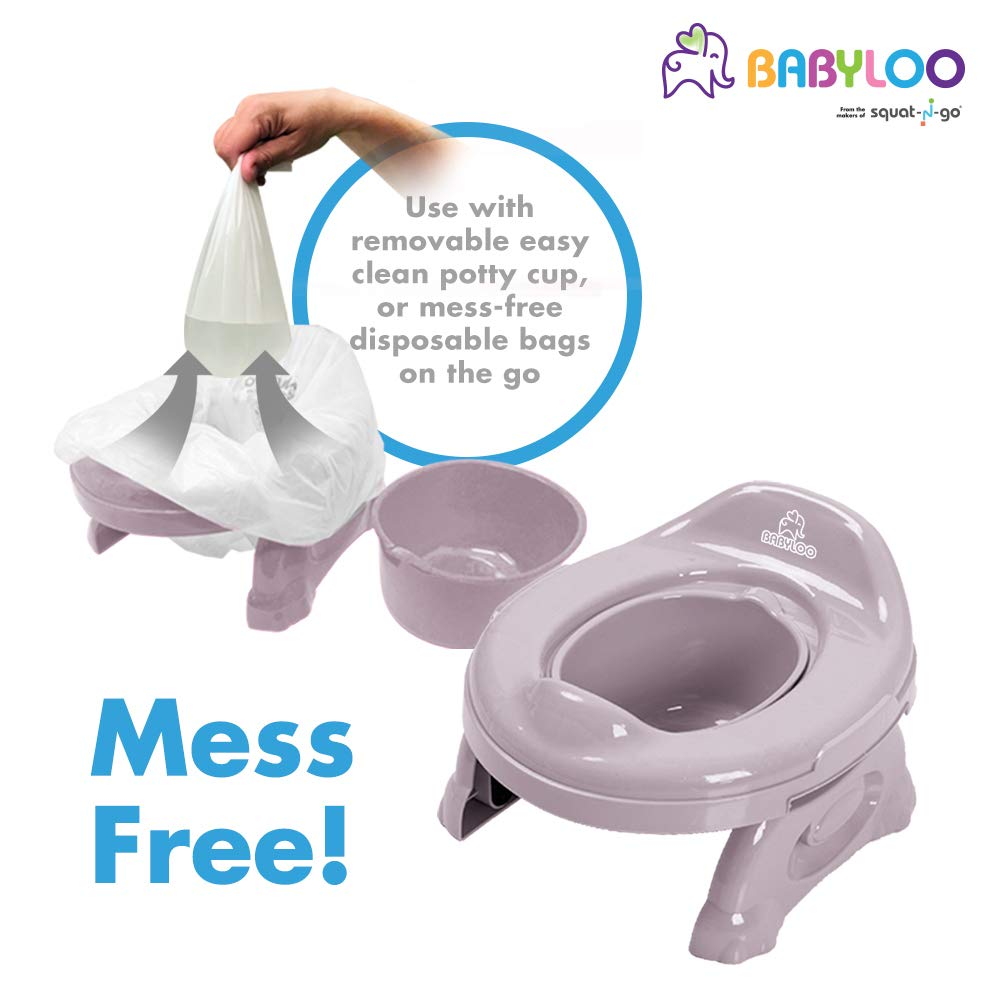 Babyloo Multipurpose 2 in1 Travel Potty Gray