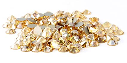 29956d15cb0 Amazon.com: SS16 Swarovski Rhinestones - Crystal Golden Shadow (1 ...
