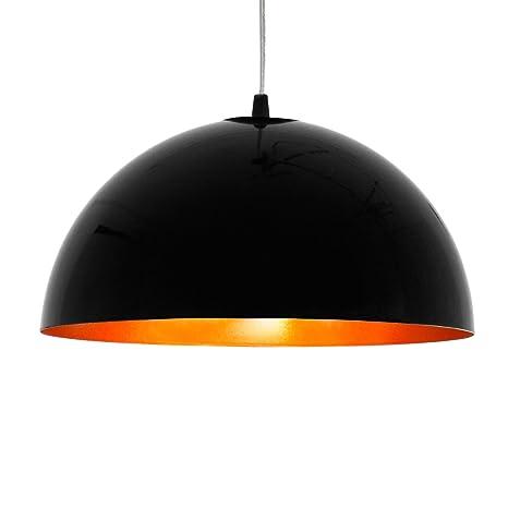oro HemisphereAmazon es de techo LED negro Lámpara POXuZTki