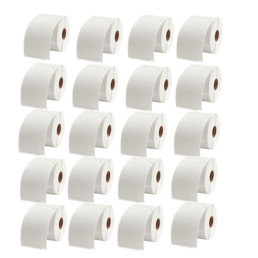 4 x 6 Dymo Shipping Labels 1744907 Compatible for Dymo 4XL, 220/Roll,20 Rolls