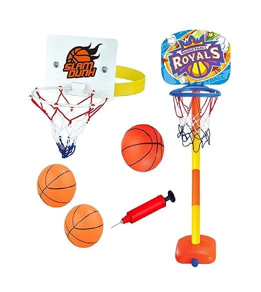 Vaycally Basketball Royals Toddler Basketball Hoop Juguete ...