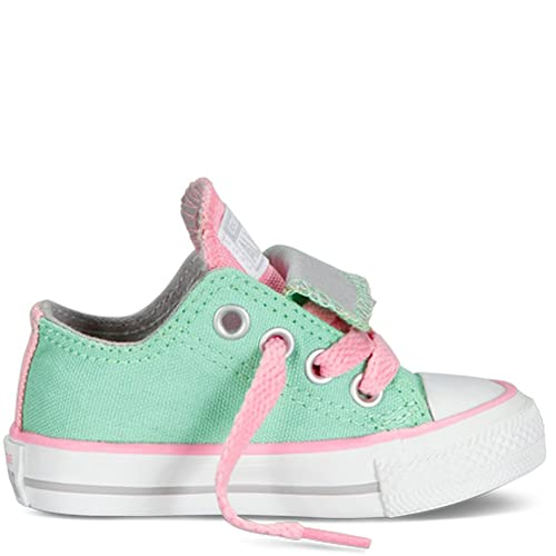 5e8881ab70d532 Converse Unisex Child Chuck Taylor All Star Double Tongue Ox (Inf Tod) -