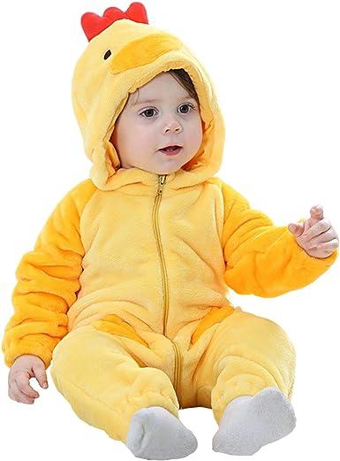BABY DUCKY PLUSH COSTUME 6-12 12-18 Infant Girls Boys Cute Animal Halloween NEW