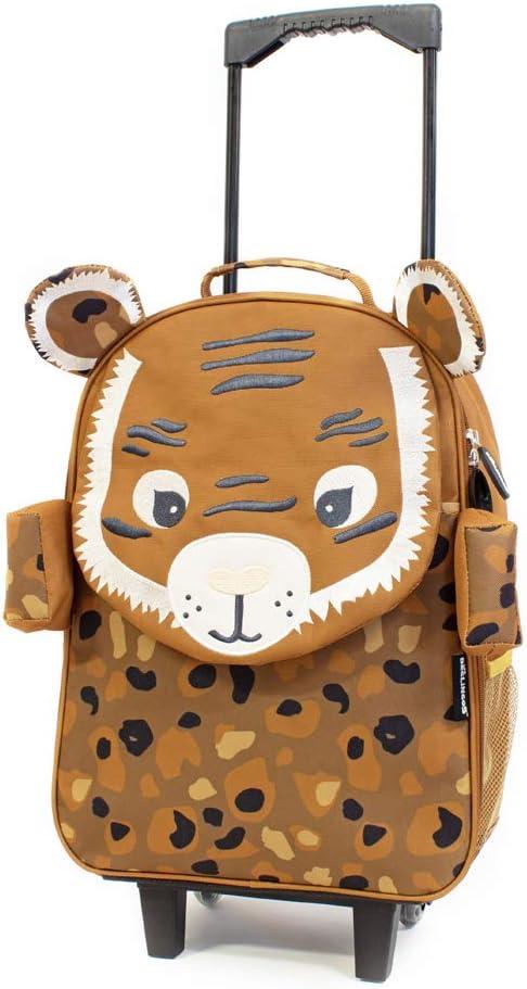Speculos Le Tigre Les DEGLINGOS Valise Trolley /à roulettes 48 cm Enfant
