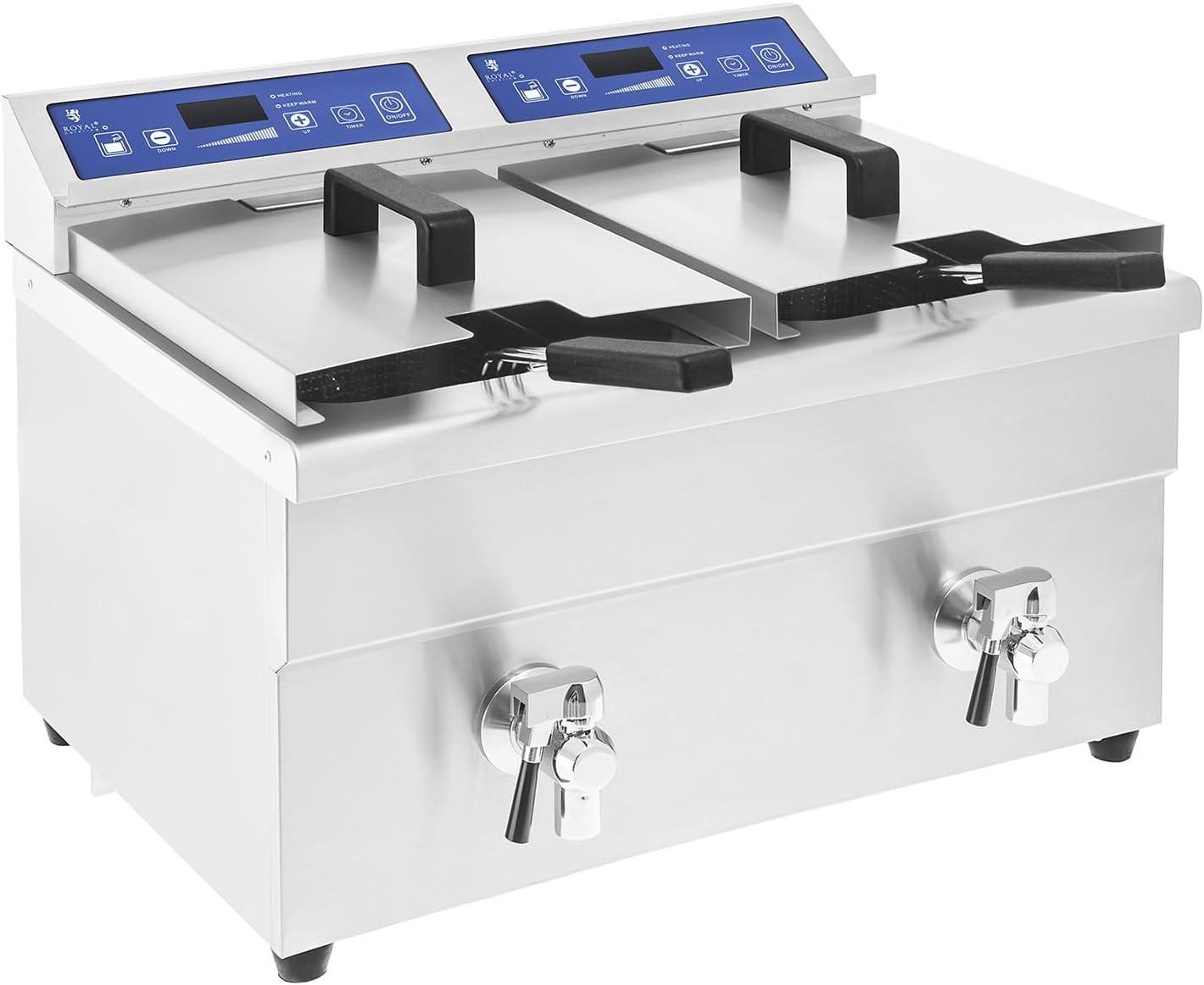 Royal Catering Freidora De Inducción para Gastronomía RCIF-10DB ...
