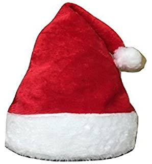L L® Unisex Father Christmas Hats XMAS Santa Party Festive Family Hats Gift  For Adult  8938173f99e9