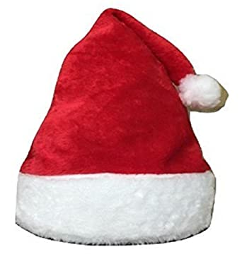 51c4e53141 Unisex Father Christmas Hats XMAS Santa Party Festive Family Hats Gift For  Adult Kid (