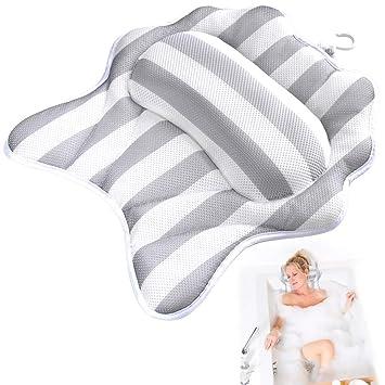 Amazon.com: Almohada de baño para proteger la cabeza del ...