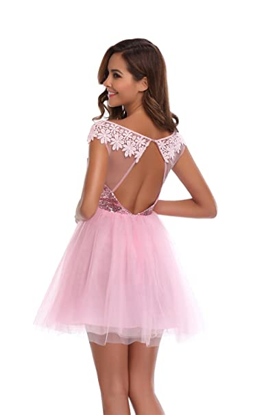 Review Quellfluss Short Prom Dress