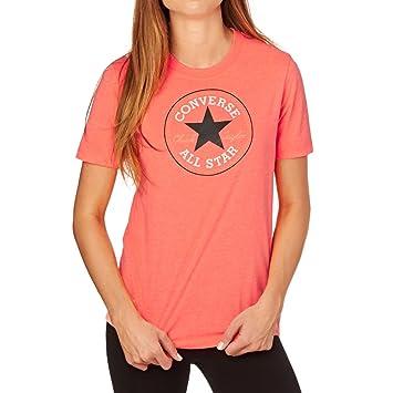 7ebf80a08 Converse Chuck Patch Women's Solid T-Shirt, Womens, Solid Chuck Patch Tee,
