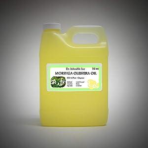 MORINGA OLEIFERA OIL BY DR.ADORABLE 100% PURE ORGANIC COLD PRESSED 32 oz/1 QUART