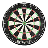 DMI Sports Brittany Recreational Bristle Dartboard Features Self-Healing Sisal Fibers Years Use