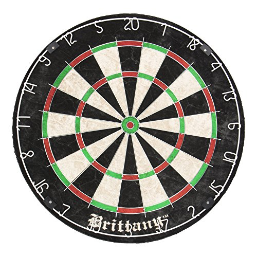 - DMI Sports Brittany Recreational Bristle Dartboard Features Self-Healing Sisal Fibers for Years of Use