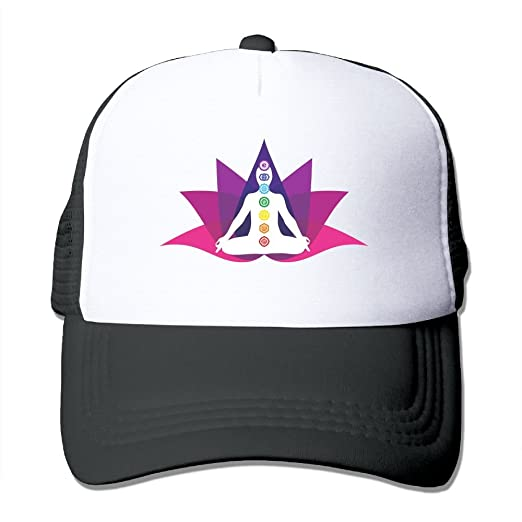 84f2dc759c8 FeiTian Chakras Yoga Comfort Baseball Caps For Teen Girls Designs Great For  Activities Workout Sunmmer Hats