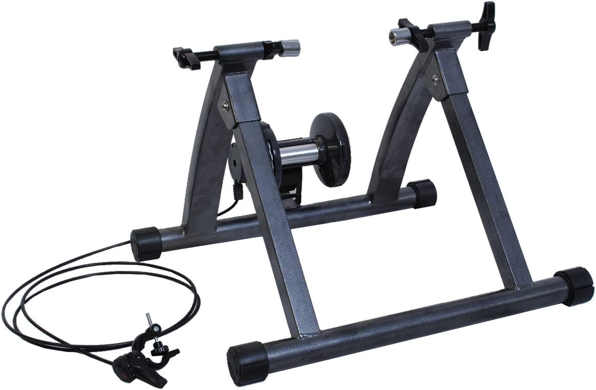 5 Level Resistance Magnetic Indoor Bicycle Bike Trainer Exercise Front Stand