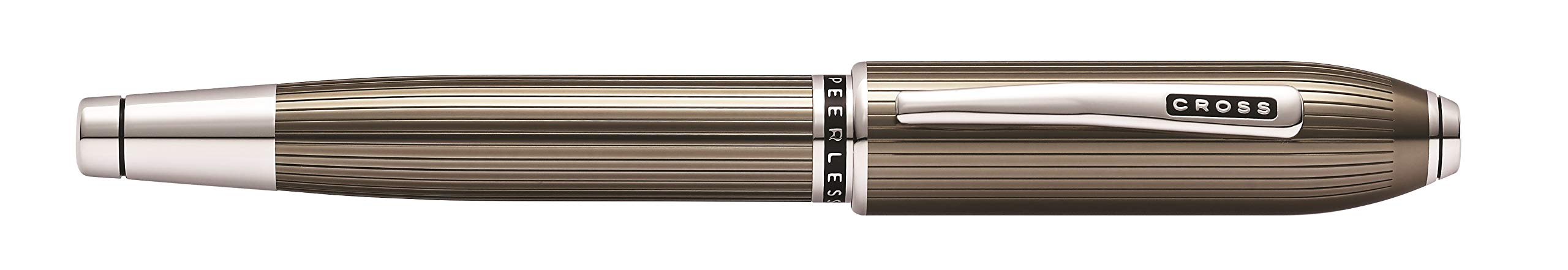 Cross Peerless Translucent Titanium Gray Selectip Rollerball Pen by Cross (Image #3)