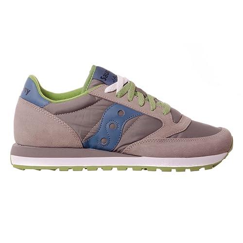 28048f9b631e2 Saucony Zapatos Zapatillas de Deporte Hombres Jazz Gris  Amazon.es  Zapatos  y complementos