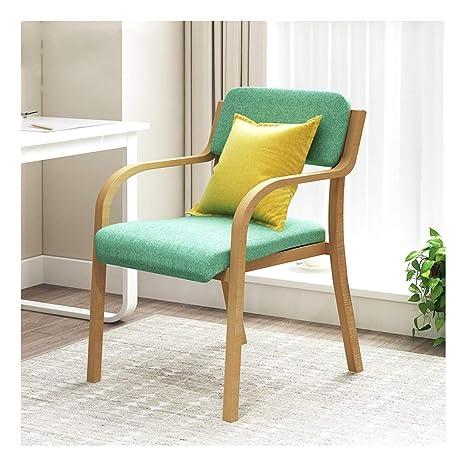 WYQSZ Silla de Madera Maciza for el hogar, sillas de Madera ...