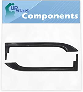 5304506471 Refrigerator Door Handle Replacement for Frigidaire FFTR1821QB3 Refrigerator - Compatible with 5304506471 Black Door Handle - UpStart Components Brand