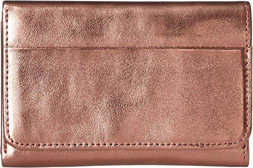 Hobo Women's Jill Trifold Wallet Burnt Bronze One Size by HOBO