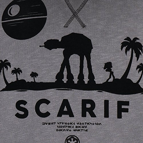 GOZOO Star Wars Rogue One Sweater Herren Scenic Scarif Oil Dye