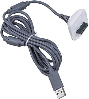 2 en 1 2m Largo USB Jugar Y CARGA CABLE DE CARGA CABLE PARA XBOX 360 Mando Pad Gamepad Joypad Joystick por airbot: Amazon.es: Videojuegos