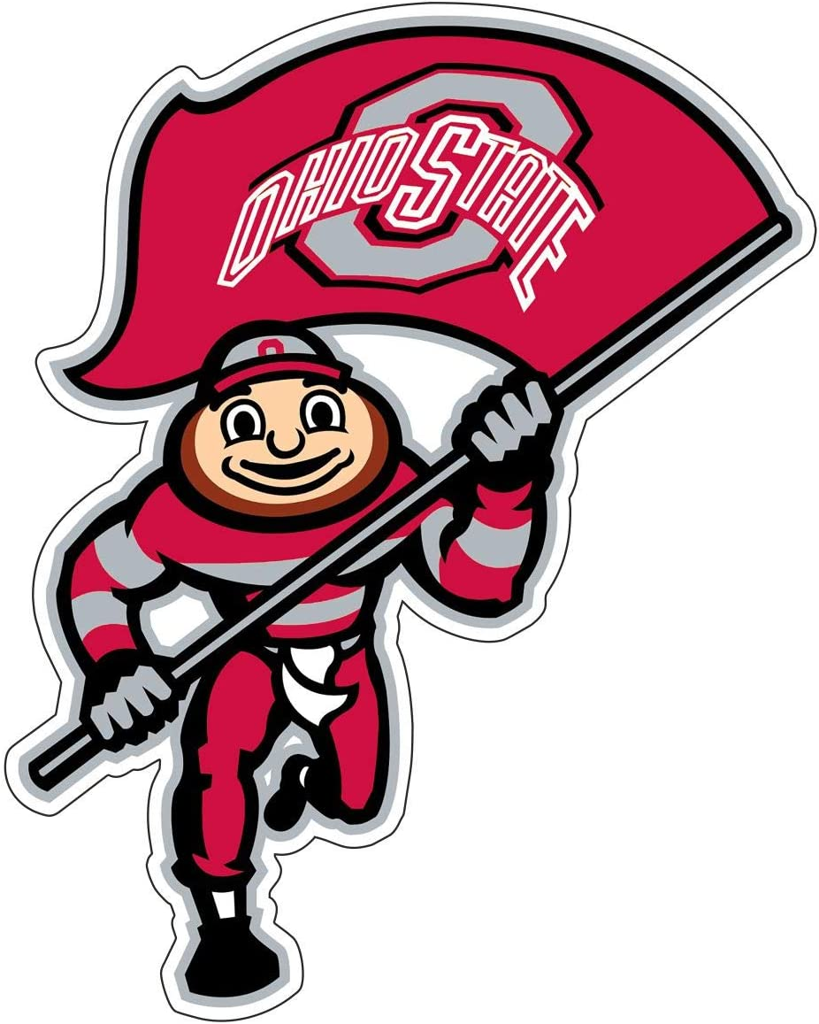 Amazon Com Ohio State Stickers 5 Sizes Ohio State University Logo Decal Vinyl Stickers Ohio Ncaa Football Waterproof 7in Arts Crafts Sewing