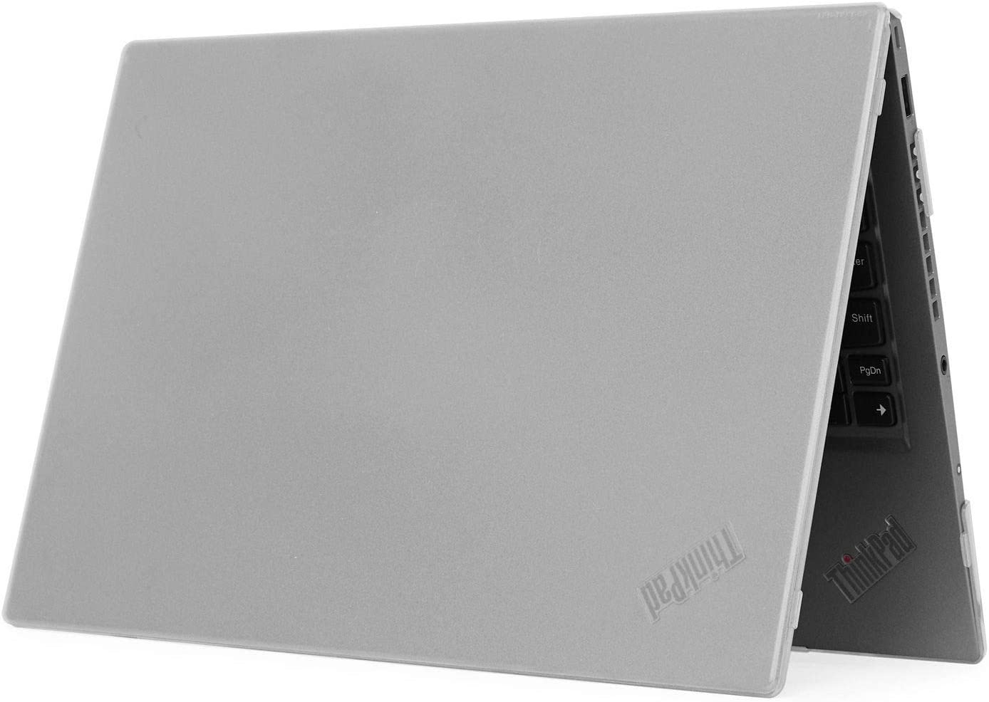"""mCover Hard Shell Case for 2020 14"""" Lenovo ThinkPad T490 Series Laptop Computer (Clear)"""