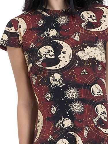 Braun Kleid Jawbreaker Moonstone Skater Dress 8503 wUwXqBx