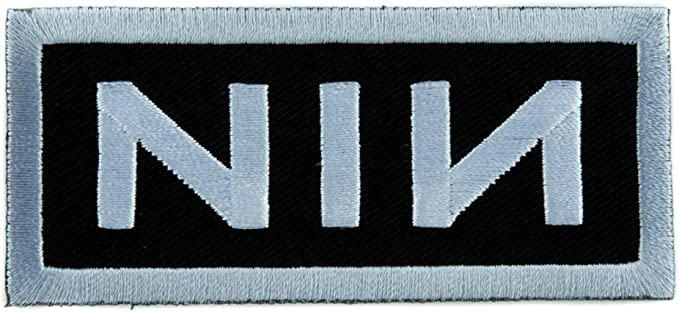 NIN Nine Inch Nails Patch Embroidered Iron//sew on