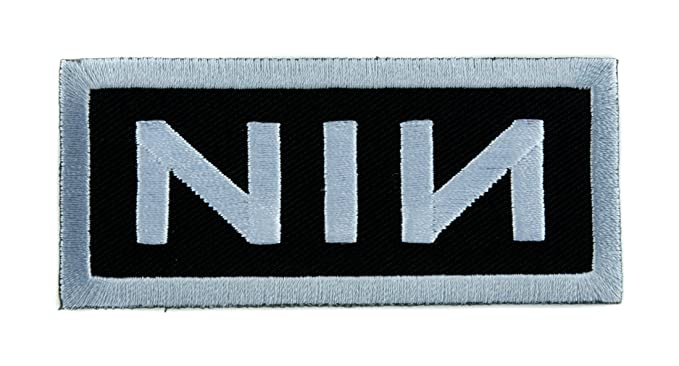 Amazon nin nine inch nails band patch iron on applique