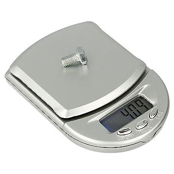 Báscula Digital de Precisión, Rango de Pesaje de 0,1g a 500g, Balanza Portátil, Peso Joyero, M4: Amazon.es: Electrónica