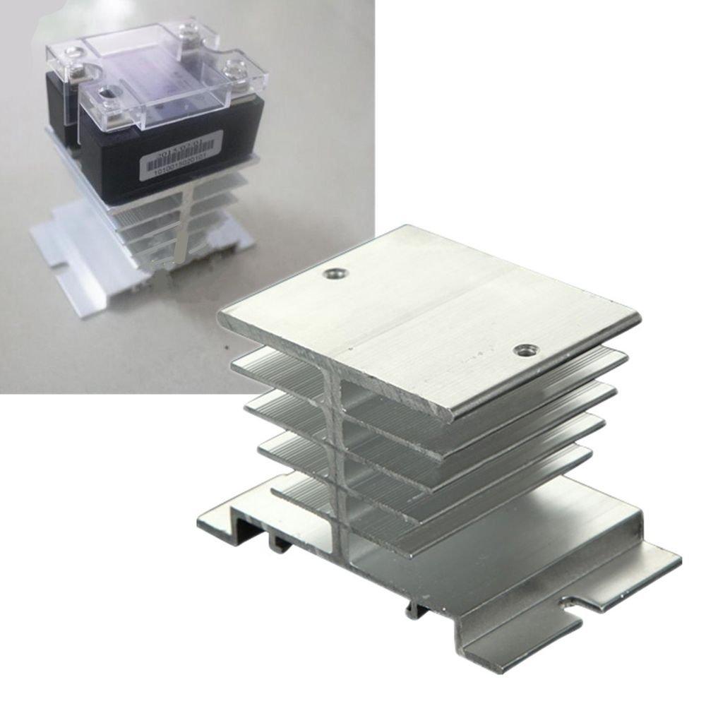 satkit Heatsink Aluminum Heat for Rele State Solido SSR 10/~ 40/A