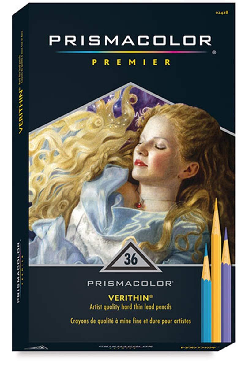 Prismacolor Premier Verithin Colored Pencil Set 36/Pkg- by Prismacolor