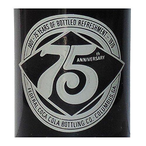 Columbus GA Federal Bottling 75th Anniversary Coca-Cola Bottle - Ga Glasses Columbus