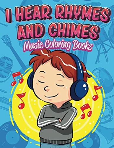 Hear Rhymes Chimes Music Coloring ebook
