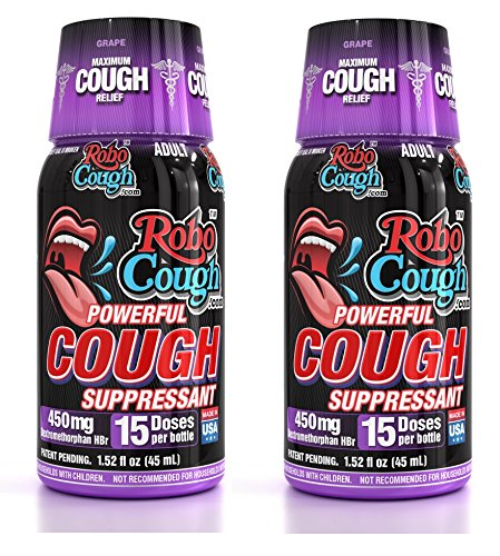 RoboCough - 2 Pack - Suppressant Cough