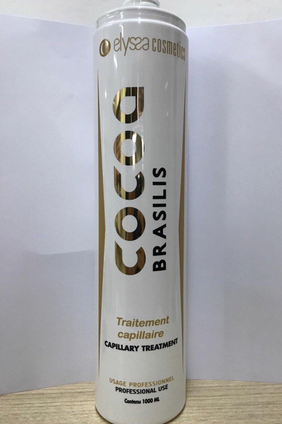 COCOA BRASILIS Kit profesional de alisado brasileño 2 x 1 l: Amazon.es: Salud y cuidado personal