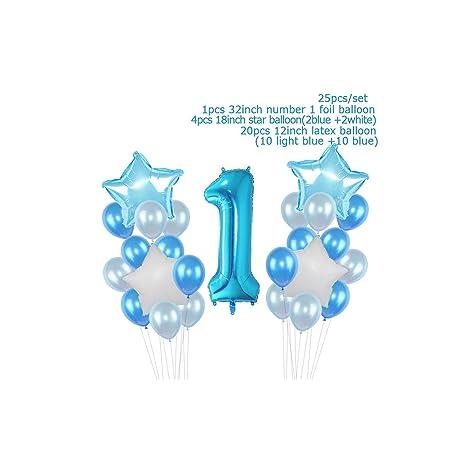 5pcs globo de látex globo para los muchachos de los bebés de ...