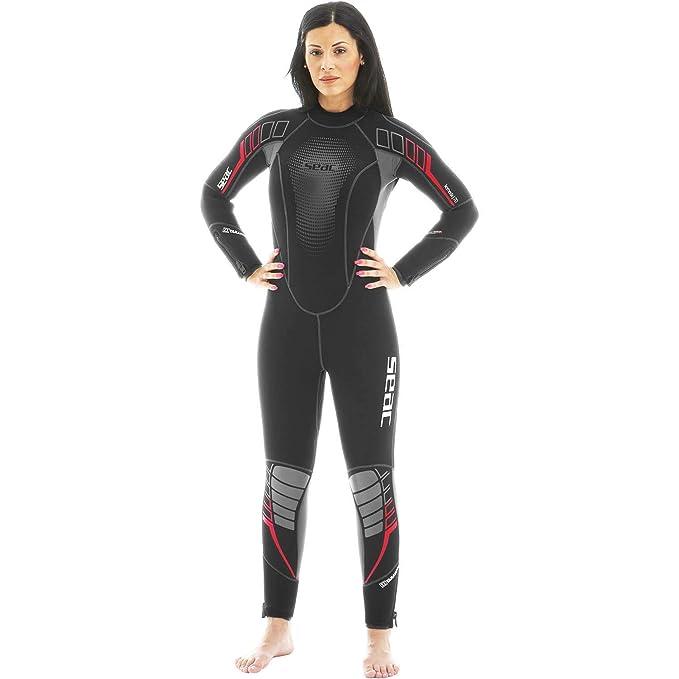 Amazon.com: Seac Komoda 7,00 mm traje de la mujer: Clothing