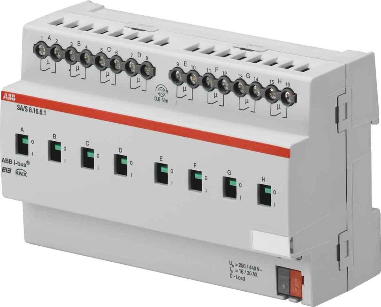 Niessen - Actuador interruptor detector 12 canal 16/20ax carga-c mdrc: Amazon.es: Bricolaje y herramientas